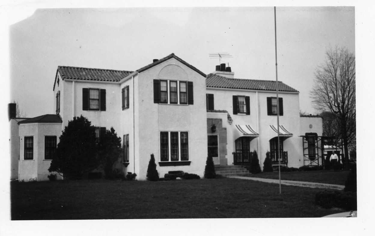 Polk-Burnett office in Centuria, Wisconsin, 1940s.