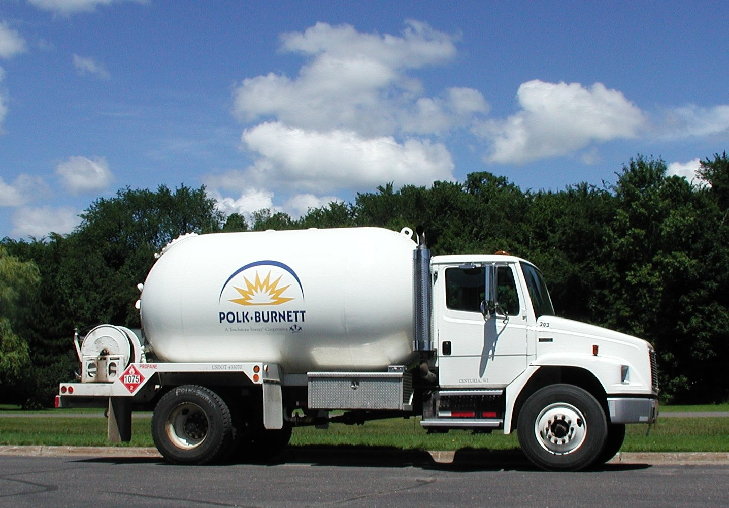 Polk-Burnett Propane began in 1996.